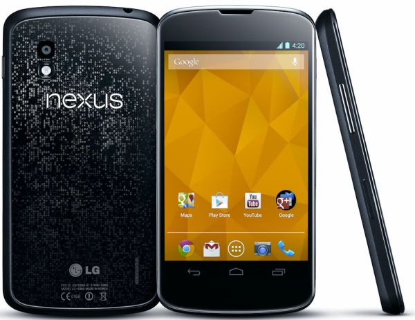 Photo of the LG Nexus 4 Smartphone